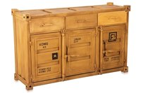 Shipping container cabinet Sideboard