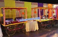 Indian Style Wedding Rehri Stall Decoration