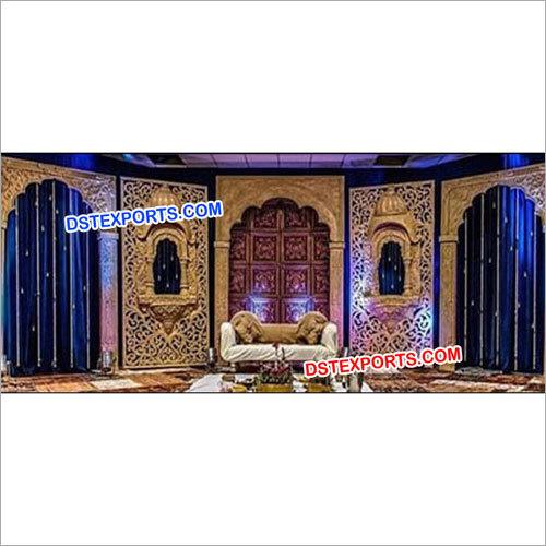 Muslim Walima Wedding Stage