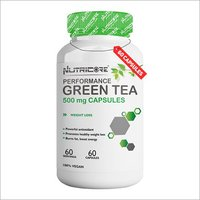 Green Tea Extract Capsule (Dietary Supplement)