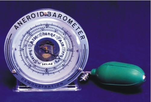 Demonstration Aneroid Barometer