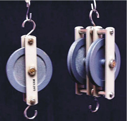 Pulleys, Single & Double, Deluxe