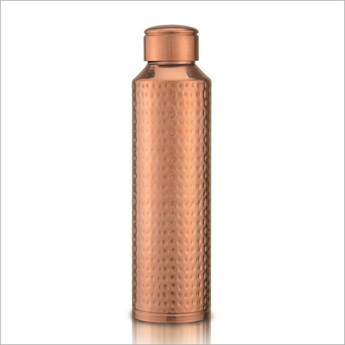 Hammered Ayurvedic Pure Copper water Bottle