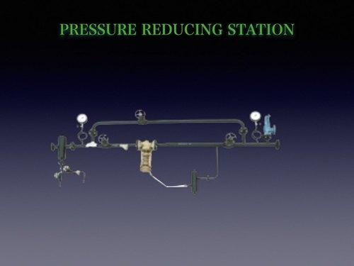 Pressure reduced de-superheated sysytem