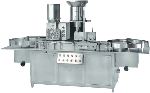 Automatic Injectable Powder Filling with Rubber Stoppering