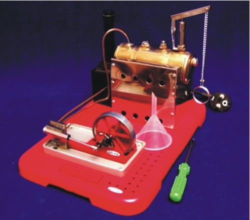 Model, Steam Engine, Electric Operated
