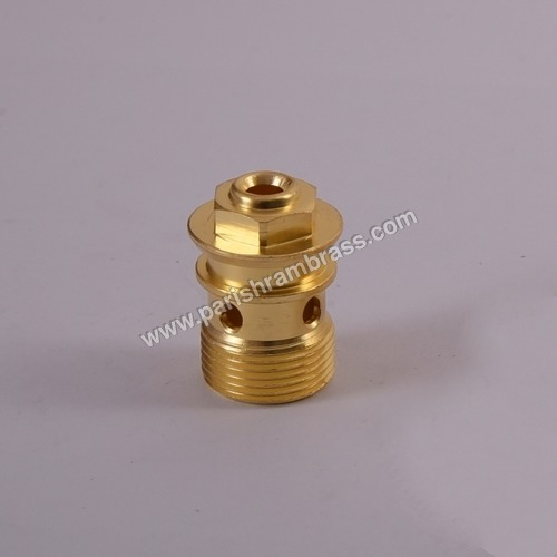 Brass Gas Spindle Part