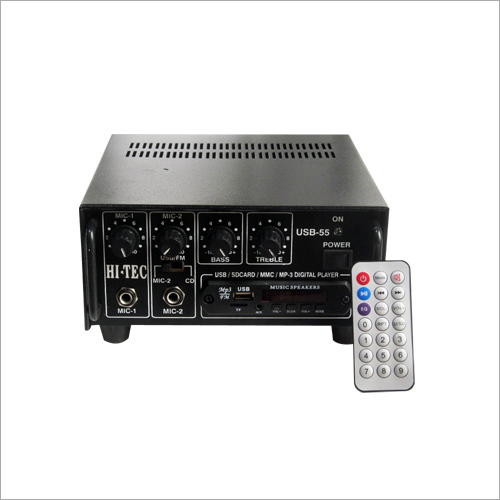 55 WT Amplifier With USB