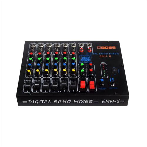 6 Mike Echo Mixer