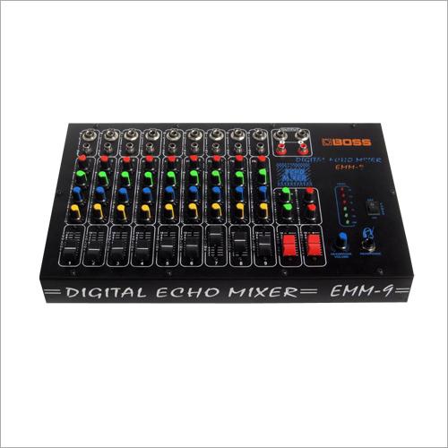 9 Mike Echo Mixer