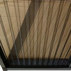 Pleated-mesh-plisse