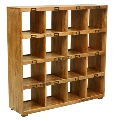 Extra Multi-storage Open Back Display Wall Unit