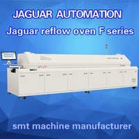 8 Zones Reflow Oven with PC and Rail