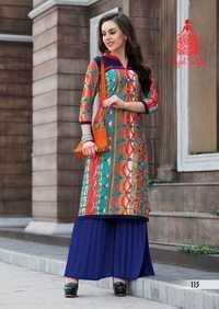 Multi Color Print Kurtis