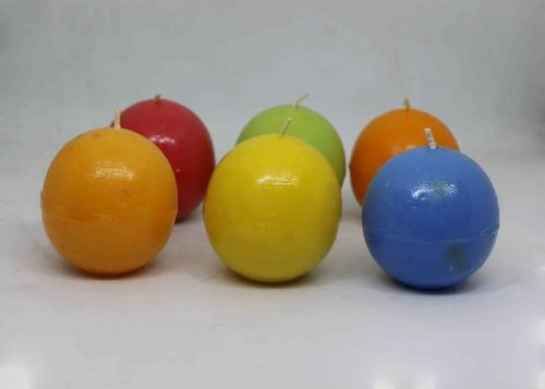 Colorful Ball Candles