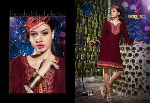 Hand Embroidered Kurtis