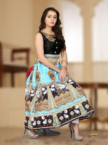 Embrodered Anarkali Suit