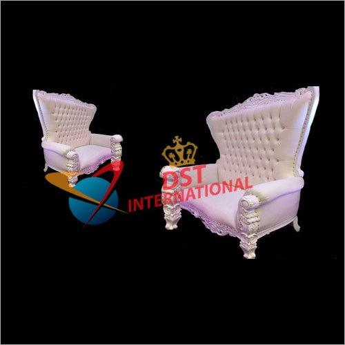 High Backed Throne Sofa Set