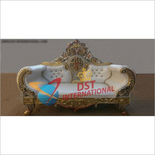 Gold Plated Two Seater Throne