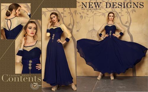 Exclusively Designer Gowns manufacturer/wholesaler/exporter in surat