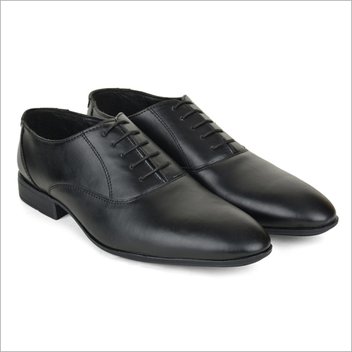 Benin Black Leather Shoes