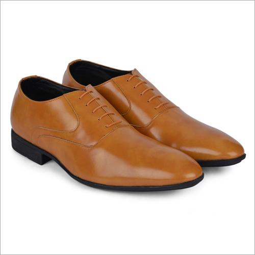 Togo Brown Leather Shoes