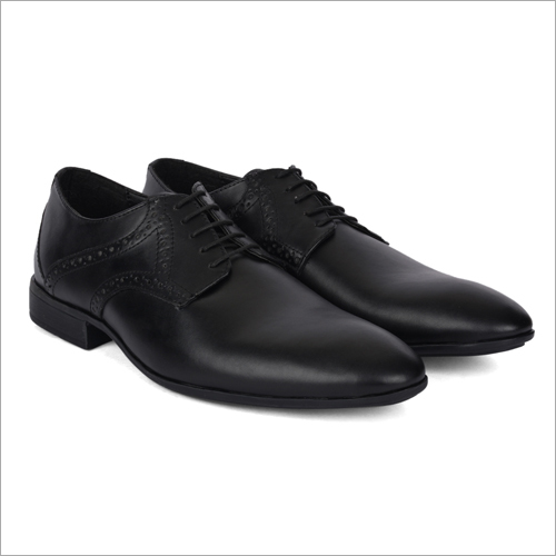 Sierra Black Leather Shoes