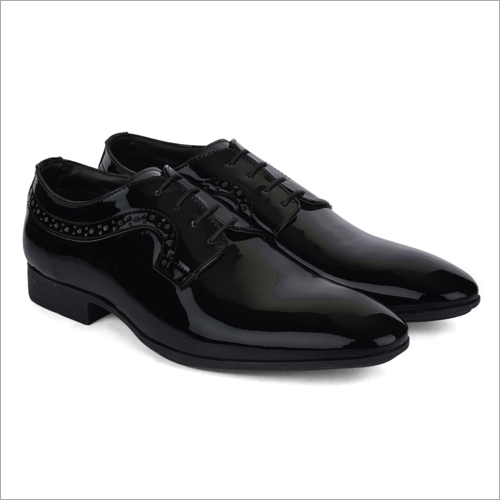 Tito Black Leather Shoes