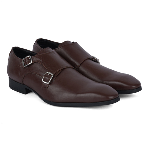 San Dark Brown Leather Shoes