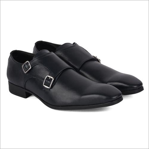 San Black Leather Shoes