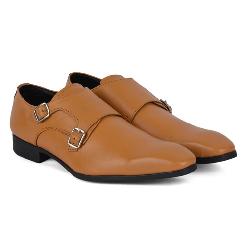 San Light Brown Leather Shoes