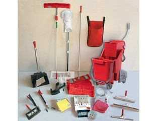Unger Colour Coded Cleaning Tools