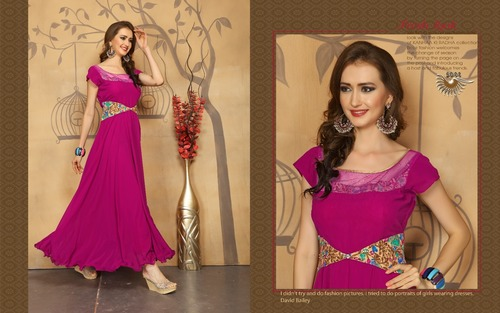 Ladies Gown - Women Gown Suppliers, Traders & Manufacturers