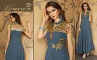 Ladies Georgette Gown Party Wear in Surat
