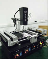 Automatic equipment bga rework station for motherboard repairing