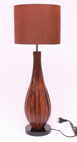 RUST TAPPER BEDSIDE TABLE LAMP