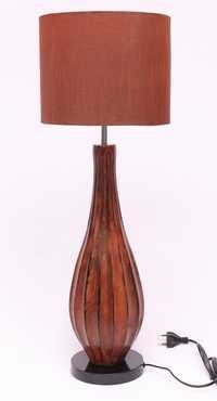 RUST TAPPER BEDSIDE TABLE LAMP