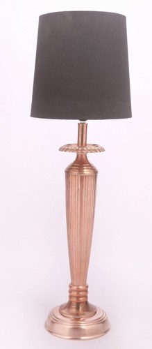 COPPER TOWER TABLE LAMP