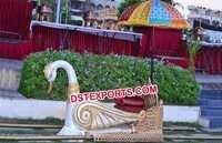 Wedding Wooden Swan Doli