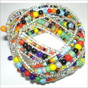 MULTICOLOUR Beaded Napkin Rings
