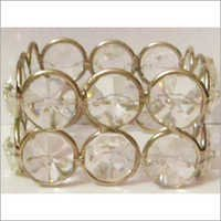 White Crystal Napkin Ring