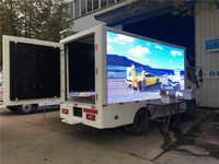 LED Mobile Advertising Display Van
