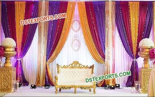 Simple Wedding Stage Decoration