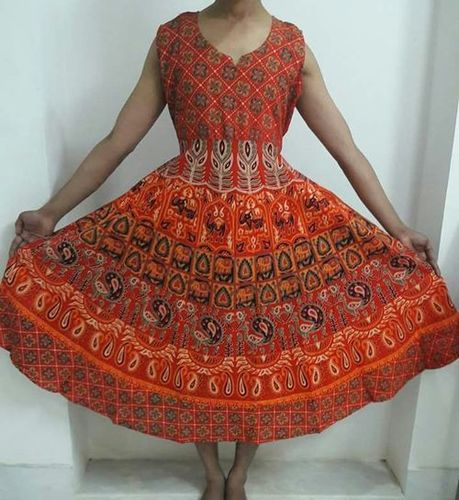 Jaipuri Printed Dress