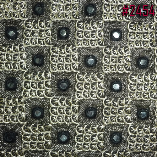 Exclusive Mirror Embroidery Work Fabrics.