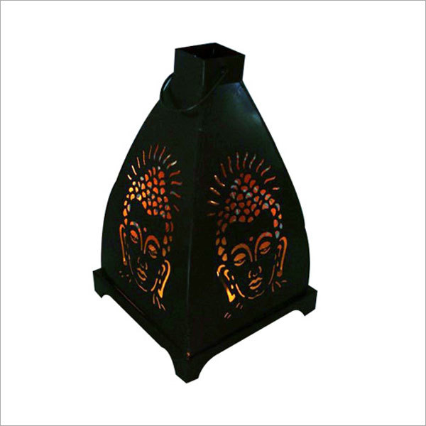 Buddha Pyramid T Light Candle Holder