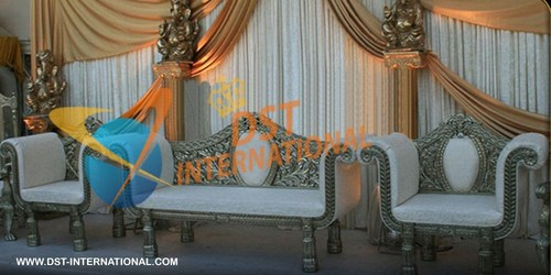 Designer Wedding Carved Sofa Set