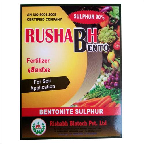 Bentonite Sulphur