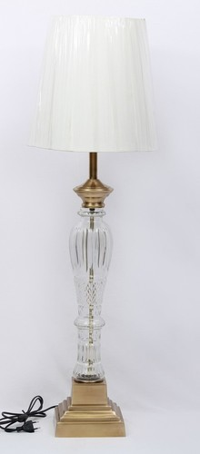 METAL GLASS TOWER DESIGNER LAMP