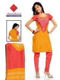 Gadhwal Suit Silk Dress Material